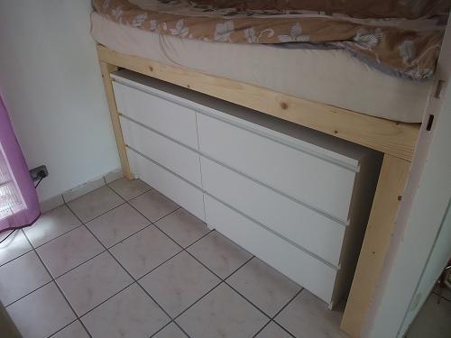 zur verf gung hatten wir eine h he von 85 cm und eine l nge von 160. Black Bedroom Furniture Sets. Home Design Ideas