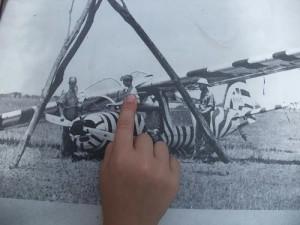 Zebraflugzeug