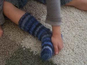 Socken passen